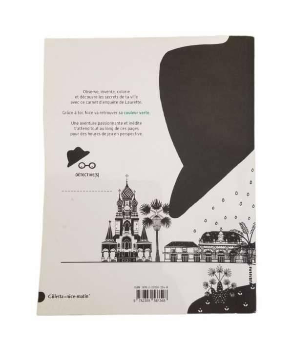 Livre cahier denquete de laurette Editions Gilletta Icilabas 1c